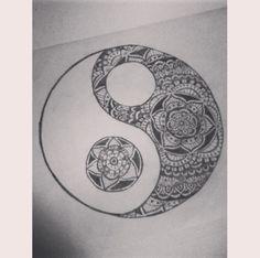 tatuaje yin yang mandala - Google Search   Random things ...