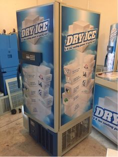 Stocking dry ice without losses of sublimation. Dry ice always available. Pay & Take-away !