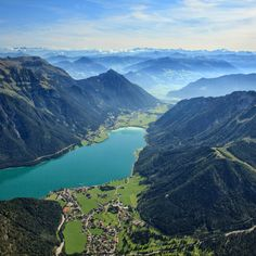 Lake Achen, or Achensee, is the largest lake in Tyrol, stretching around 6 miles long between the Isar and Inn river basins. You can reach Achensee via cog railway from the village of Jenbach. Public beaches in Eben and Pertisau provide access for swimming.