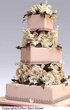 【パーフェクトウェディング宣言!】-No.1ケーキデザイナーのウェディングケーキ