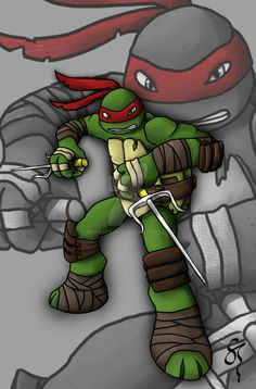 After reigniting my love for the TMNT world again with the new 2012 Ninja Turtles, i wanted to draw them all. My second turtle is Michelangelo. Using the new shading and effects as Raph so if you l...