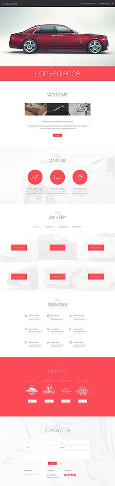 Limousine Car Service Website #Wordpress #template. #themes #business #responsive #Wordpressthemes