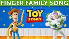 DADDY FINGER SONG TOY STORY Woody,Buzz Lightyear, Barbie, Green Aliens, Toys Videos