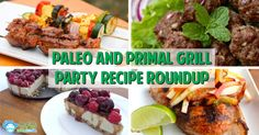Paleo and Primal Grill Party Recipe Roundup - Grass Fed Girl, LLC *for when I get a grill ;)* mostly #lowcarb #yum