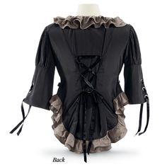 Grisette Jacket - Women's Clothing & Symbolic Jewelry – Sexy, Fantasy, Romantic Fashions Steampunk Costume, Steampunk Clothing, Steampunk Fashion, Pyramid Collection, Steampunk Wedding, Diy Clothing, Refashion, Sexy Outfits, Jackets For Women