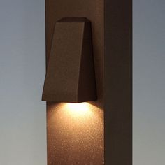 Reveal LED Wedge Rail Light by Trex - Charcoal Black - Illuminated
