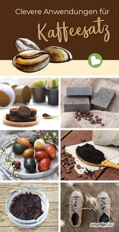 15 clever things you can do with coffee grounds - Hacks - Chalk Paint Mason Jars, Painted Mason Jars, Galaxy Bath Bombs, Mason Jar Flowers, Diy Wall Shelves, Beauty Recipe, Mason Jar Crafts, Home Decor Trends, Cleaning Hacks