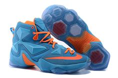 100% authentic cadf5 61eec Find 2016 Nike Mens Basketball Sneakers Lebron 13 XIII Blue Orange Red  388676 online or in Lebronshoes. Shop Top Brands and the latest styles 2016  Nike Mens ...