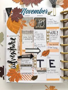 November planning - me & my BIG ideas @maldonadomas for #meandmybigideas
