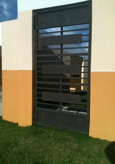 1000 images about portones de metal on pinterest - Puertas de metal para casas ...