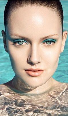 Sexy blue eyeshadow #blue #eyeshadow www.loveitsomuch.com