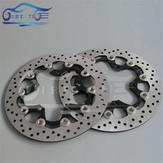 197.30$  Buy now - http://alifpv.worldwells.pw/go.php?t=32466162704 - new motorbike accessories Aluminum alloy&stainless steel Front Brake Disc Rotor For SUZUKI GSF1250 BANDIT ABS/NON 2007 2008 2009