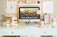 blogger's office ideas