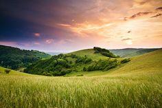 Kaiserstuhl sunset by Steffen Egly