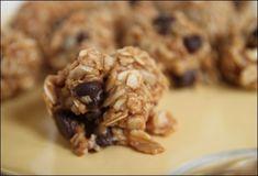 No Bake Peanut Butter Oatmeal Bites (mmmm!)