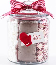 Better Homes and Gardens has a nice collection of Simple Holiday Crafts for Under $10 – including this easy-to-make Hot Cocoa Kit.
