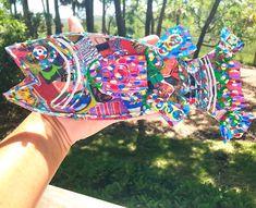 Swimming into Summer with some new Fish!www.DeaneVBowersArt.com  #fish #fishart #art #mixedmedia #charlestonartist #creative #coastaldecor #coastalart #lowcountry #repurposedmaterials #recycledart #handmade #ecofriendly #southernartist Old Magazines, Coastal Art, Colorful Fish, Assemblage Art, Environmental Art, Fish Art, Recycled Art, Beach Art, Mixed Media Art