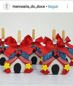 @mercearia_do_doce Instagram ❤ Rice Krispie Treats, Rice Krispies, Brownie Pops, Rainbow Candy, Circus Birthday, Mini Mouse, Dessert Buffet, Themed Cakes, Let Them Eat Cake