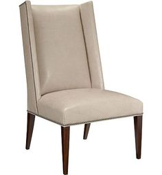 Martin Host Chair with Tight Seat w/out Arms - Ash from the 1911 Collection collection by Hickory Chair Furniture Co.