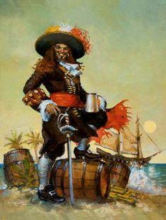 Captain Henry Morgan certainly has a little captain in him.