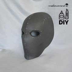 DIY basic face mask template for EVA foam Armor Cosplay, Cosplay Diy, Cosplay Costumes, Prop Making, Mask Making, Diy Mask, Diy Face Mask, Eva Schaum, Armadura Cosplay