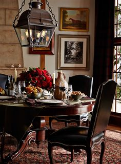 Setting the scene for fall entertaining, with Ralph Lauren Home