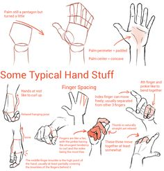 "suzannart: "" I'm not an expert but I like hands a lot so hopefully some of this was helpful! """