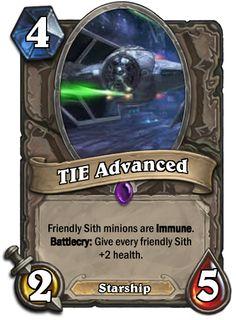 Star Wars Hearthstone Cards