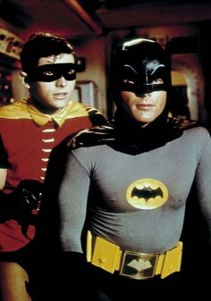 Adam West and Burt Ward premiered on Batman in Jan of 1966 and we started to hear all those 'catch-ism' enter the lexicon - 'Meet Ya Back At The Batcave Robin!'