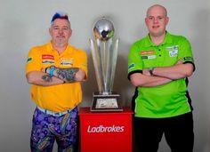 The darts finale Van Gerwen vs. Darts Game, Michael Van Gerwen, Peter Wright, Sport, Snake, Corner, Punk, Website, Darts
