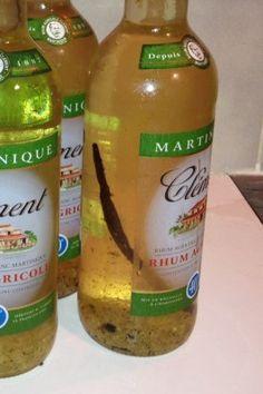VIN DE CITRON (rhum, vin blanc, citrons, sucre, vanille)
