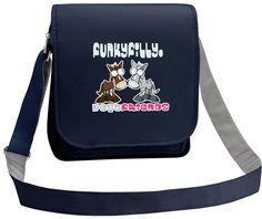 Best Friends Pony Girls Cross Body Shoulder Bag Navy Blue