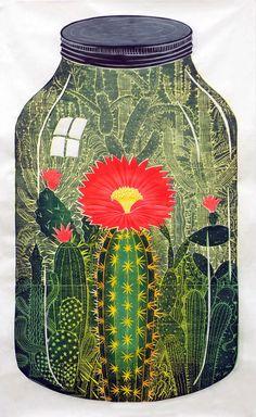Inspiration World or Desert in a Jar john buck illustration Art And Illustration, Illustration Cactus, Illustrations, Botanical Illustration, Botanical Art, Poster Art, Cactus Art, Cactus Painting, Garden Painting