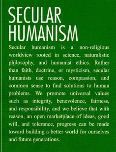 Secular Humanism is not incompatible with paganism. It just adds another dimension.