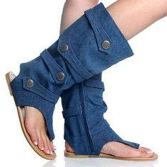 boots made from blue jeans....  oh my!, these are adorable!....  but the link does not go anywhere....:(   ...dw