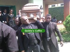 """MY LATE FRIEND TUNJI OKUSANYA CARRYING THE COFFIN OF GOLDIE BRINGS UP A PAINFUL QUESTION ALWAYS...""""WHAT EXACTLY IS THE MEANING OF LIFE AND DEATH?"""""""