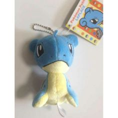 Pokemon Center 2014 Pokemon Petit Campaign Lapras Mascot Plush Keychain