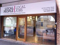 #LocalPeopleLocalJobs 22 Stroudley Walk #JobShop. Logo by @sparrow_tweets