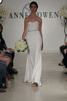 Anne Bowen Spring 2013 / Photo Courtesy of Wedding Wire
