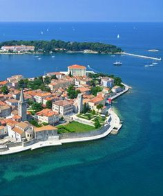 Porec can make a perfect base to explore the peninsula, 'cause it has a good balance of nightlife, family activities, sport offer, beaches, and hotels.