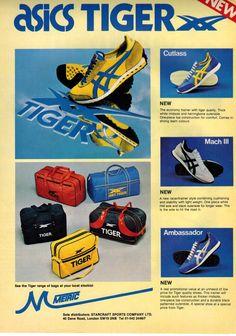 1980 Asics Tiger advert