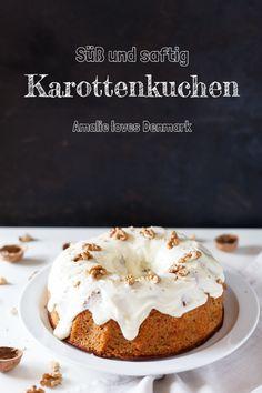 Amalie loves Denmark Rezept für Karottenkuchen