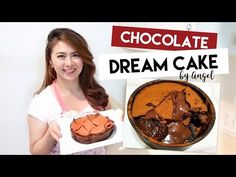 Chocolate Dream Cake Recipe, Chocolate Dreams, Baking Tips, Allrecipes, Cake Recipes, Goodies, Filipino Desserts, Cakes, Youtube