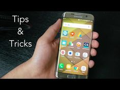 Samsung Galaxy S7 and S7 Edge Tips and Tricks - YouTube