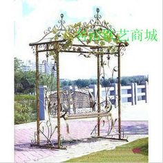 Exceptional Home Wrought Iron Outdoor Swing Chair Hanging Chair Garden Chair Hammock  Double Swing