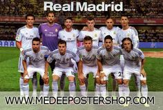 Real Madrid 2014 Poster