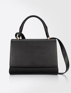 Max Mara JBAG10 black: Leather JBag.
