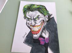 My drawing of joker!