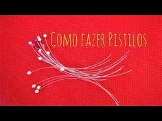Como fazer Pistilos p/ flores com material barato.雌しべを作る - YouTube