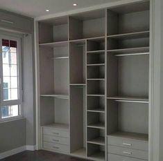 Walk In Closet Design, Wardrobe Design Bedroom, Closet Designs, Closet Bedroom, Kids Bedroom, Master Bedroom, Ikea Closet, Bedroom Cupboards, Closet Layout